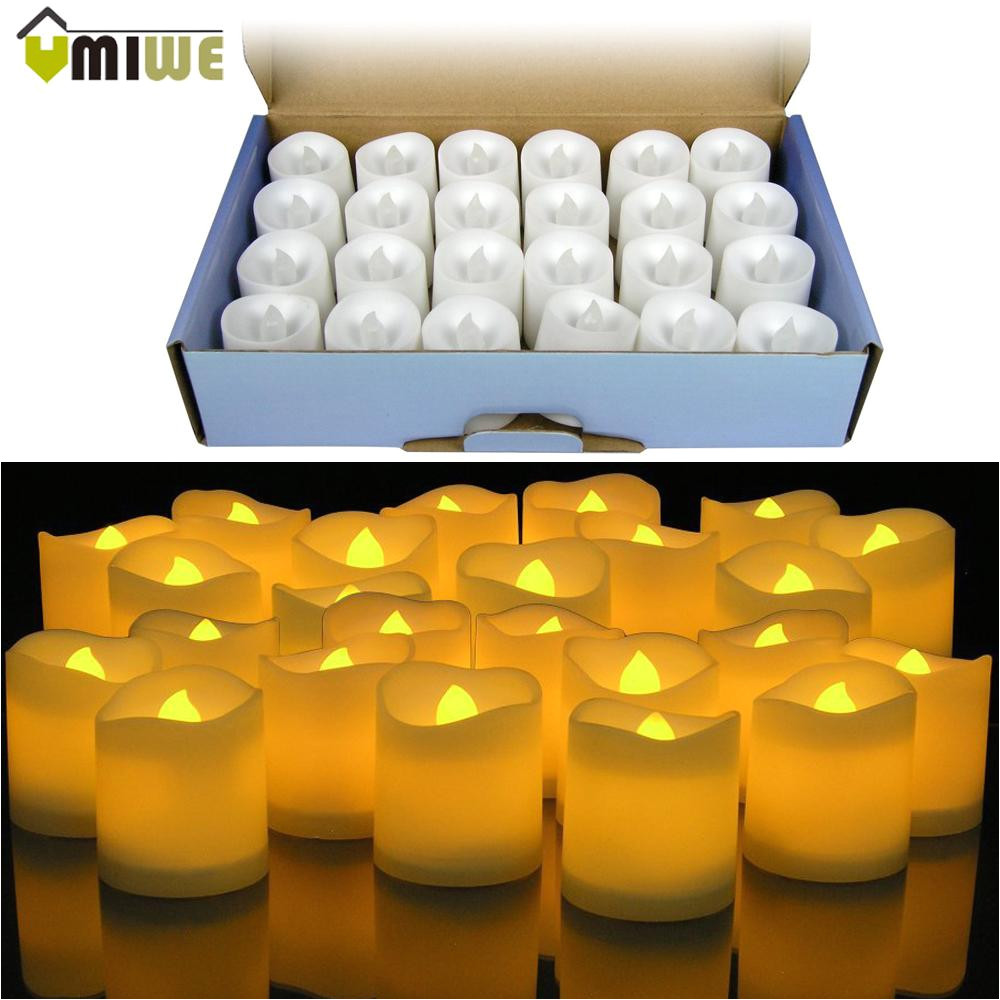 yellow led flameless candle lamp votive bars holiday wedding battery powered electronic pillar candle for home decoration best smelling candles best soy