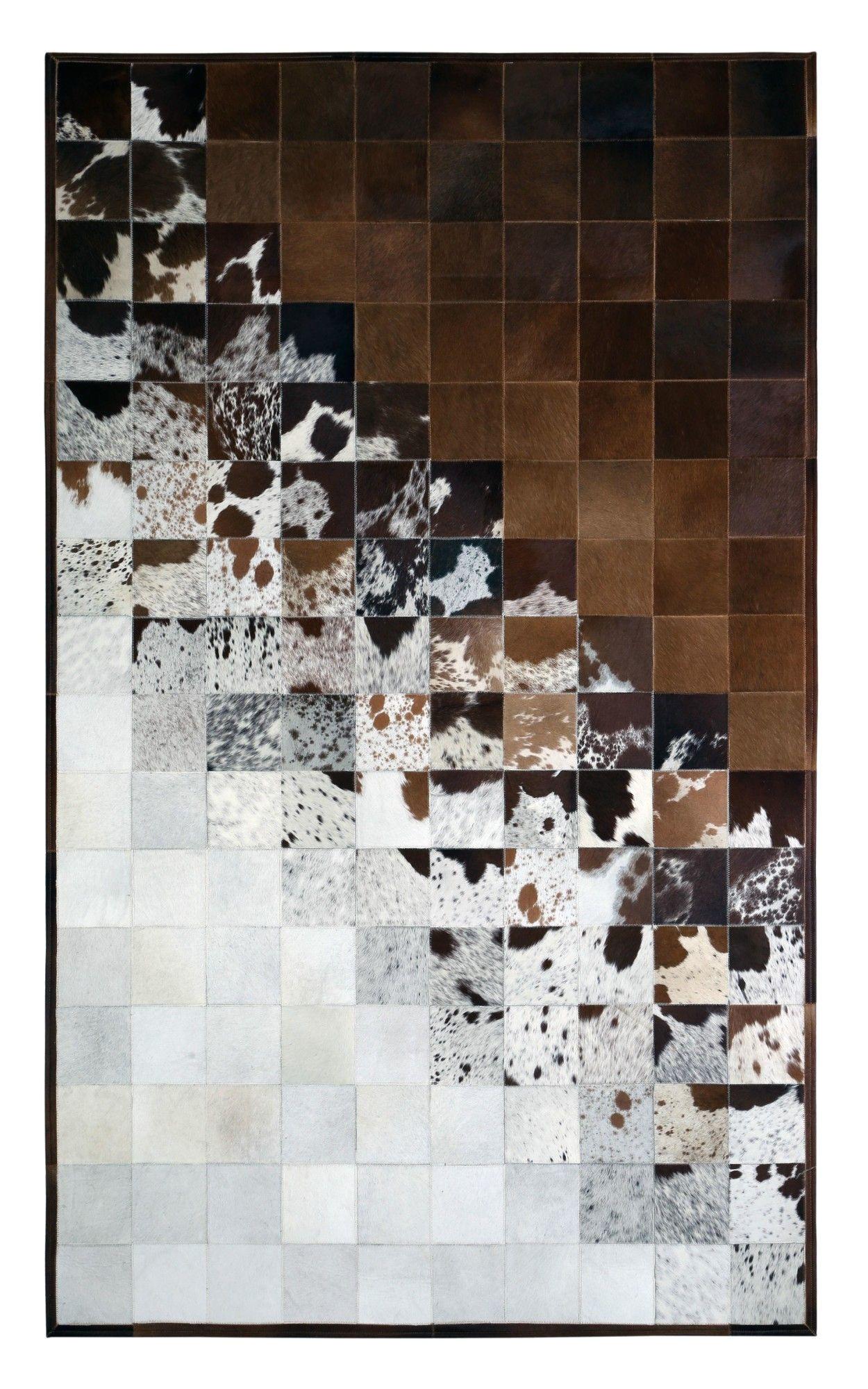 prescott brown natural area rug cow rug cow hide rug carpet tiles