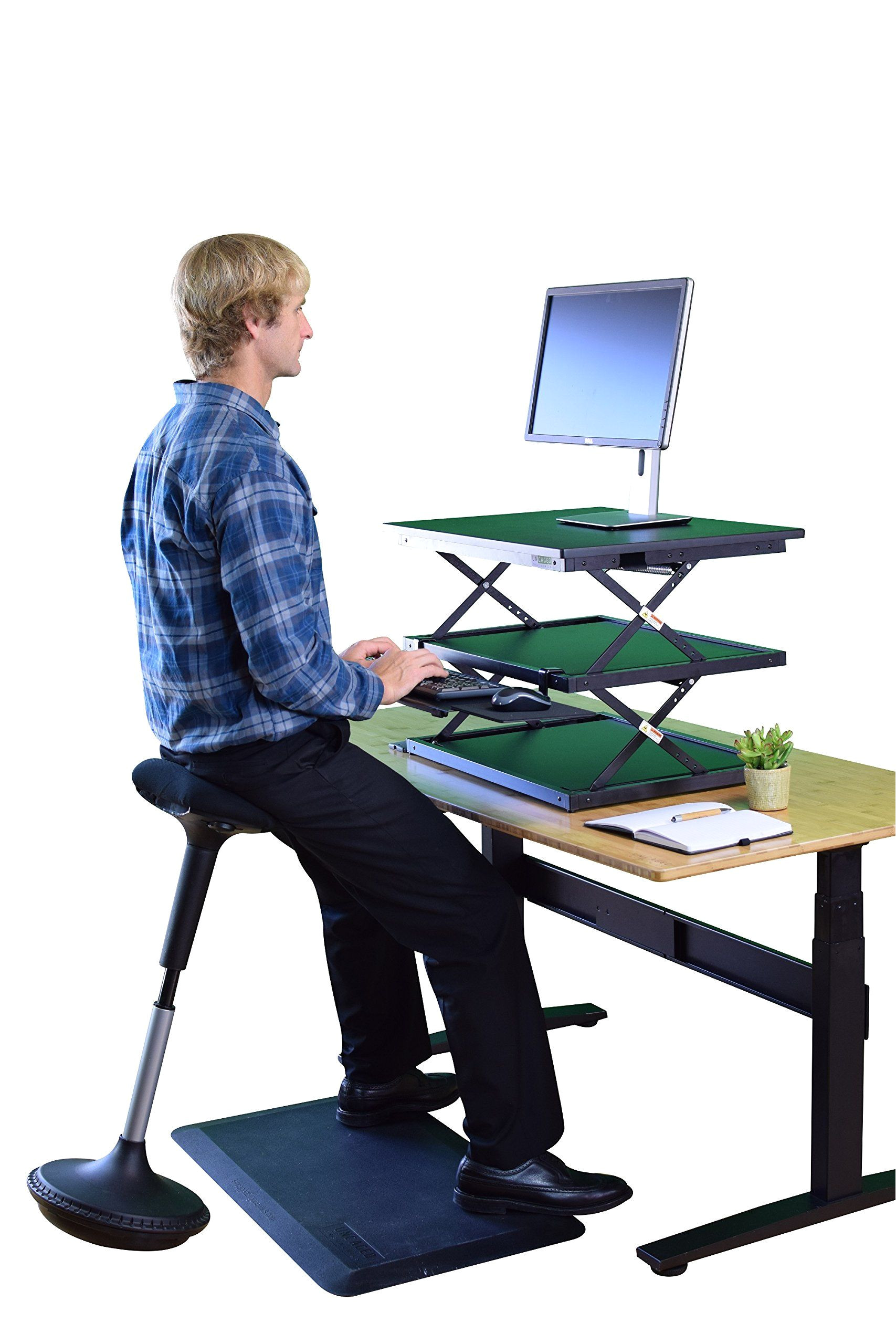 ergonomic stand up desk elegant wobble stool adjustable height active sitting balance chair for