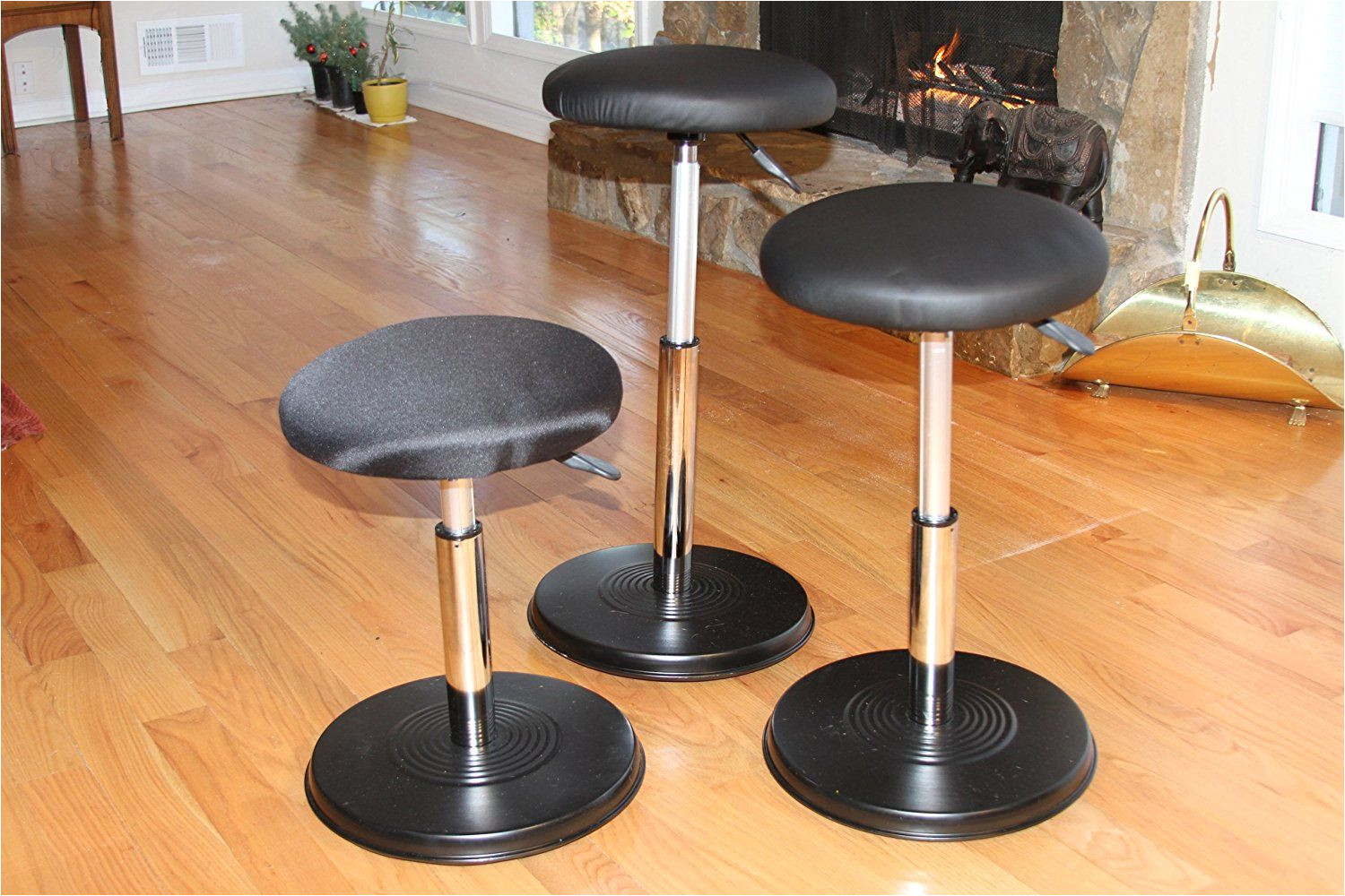 amazon com kore executive hi rise wobble chair stool for office great