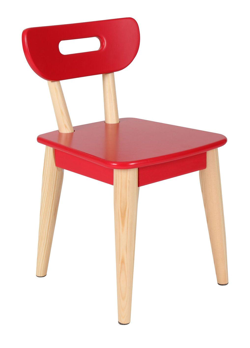 wood kids chair
