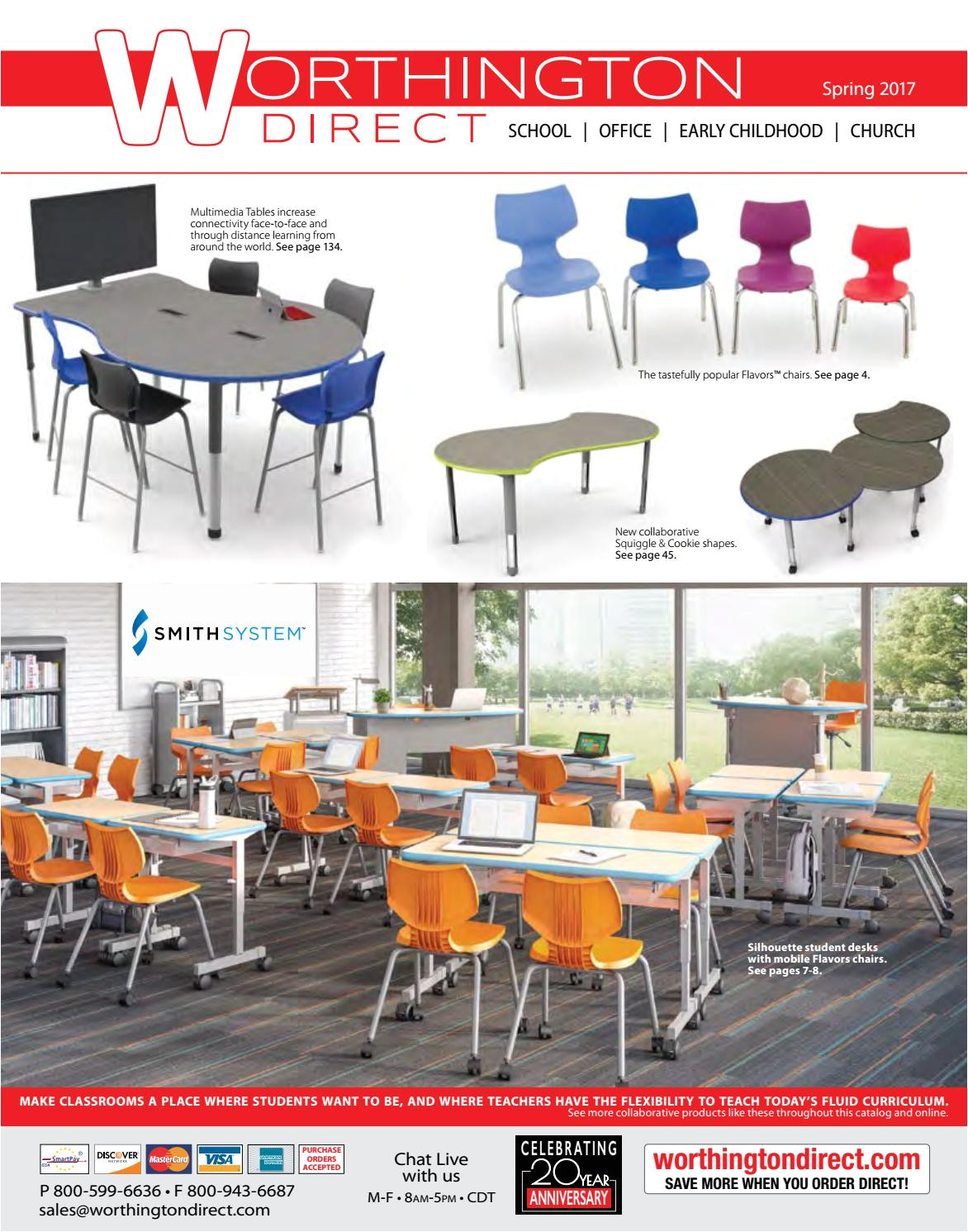 Wobble Chairs for Kindergarten Worthingon Direct 2017 Furniture Catalog by Worthington Direct issuu