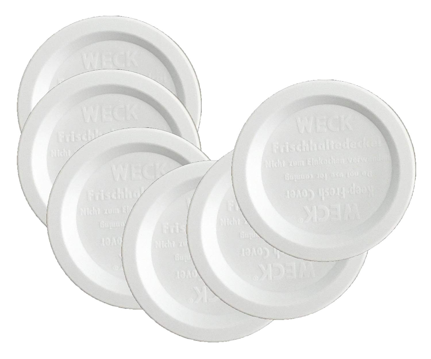 Wooden Lids for Weck Jars Amazon Com Weck Jar Keep Fresh Plastic Lids 6 Pack Small 60mm