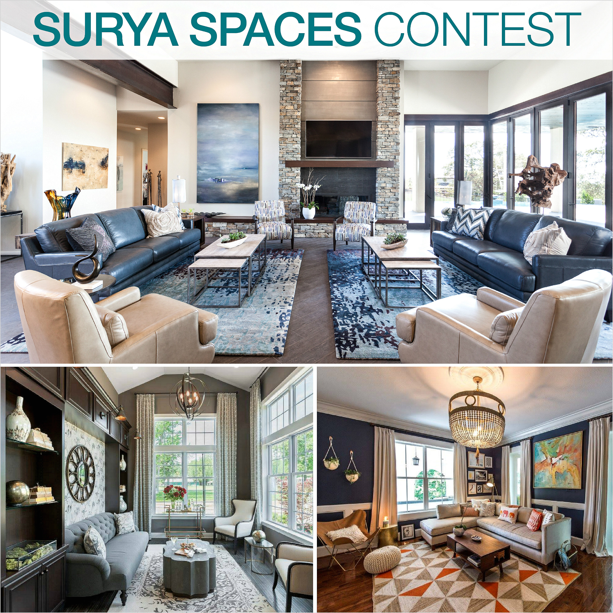 surya has named the winners of the third round of its popular surya spaces contest in early july the brand invited its customers to submit photos of their