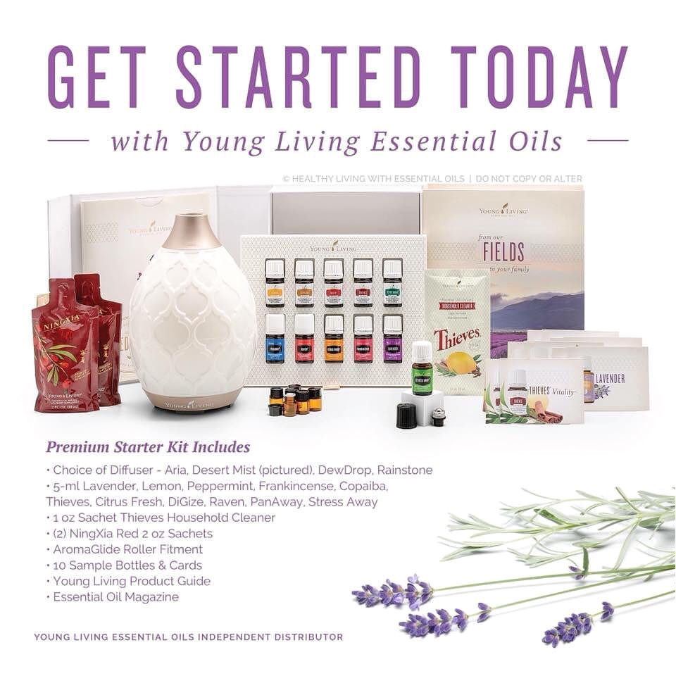 start 2019 off on the right foot with the young living premium starter kit each