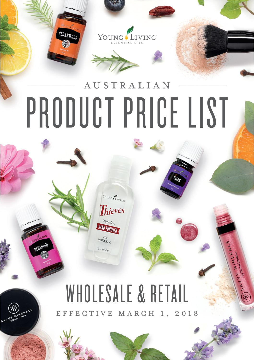 australian product price list march 1 2018 by young living essential oils australia new zealand issuu
