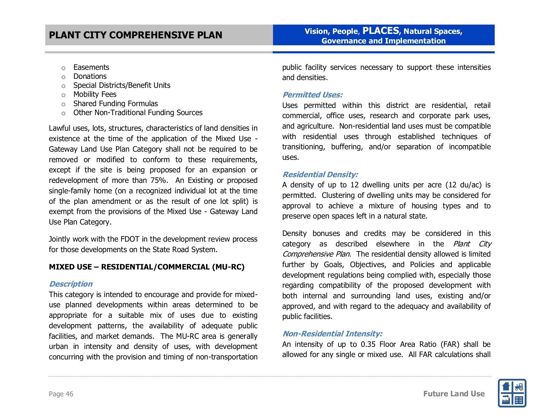 Zip Code for Macdill Afb Imagine 2040 Plant City Comprehensive Plan Pages 51 100 Text