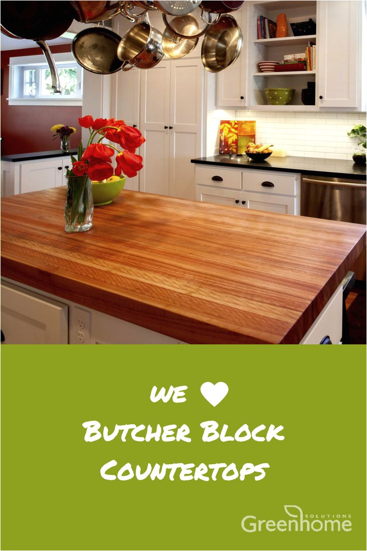 add warmth and texture with butcher block solid wood surfaces at greenhome solutions we love that they come in standard and custom sizes to fit countertops