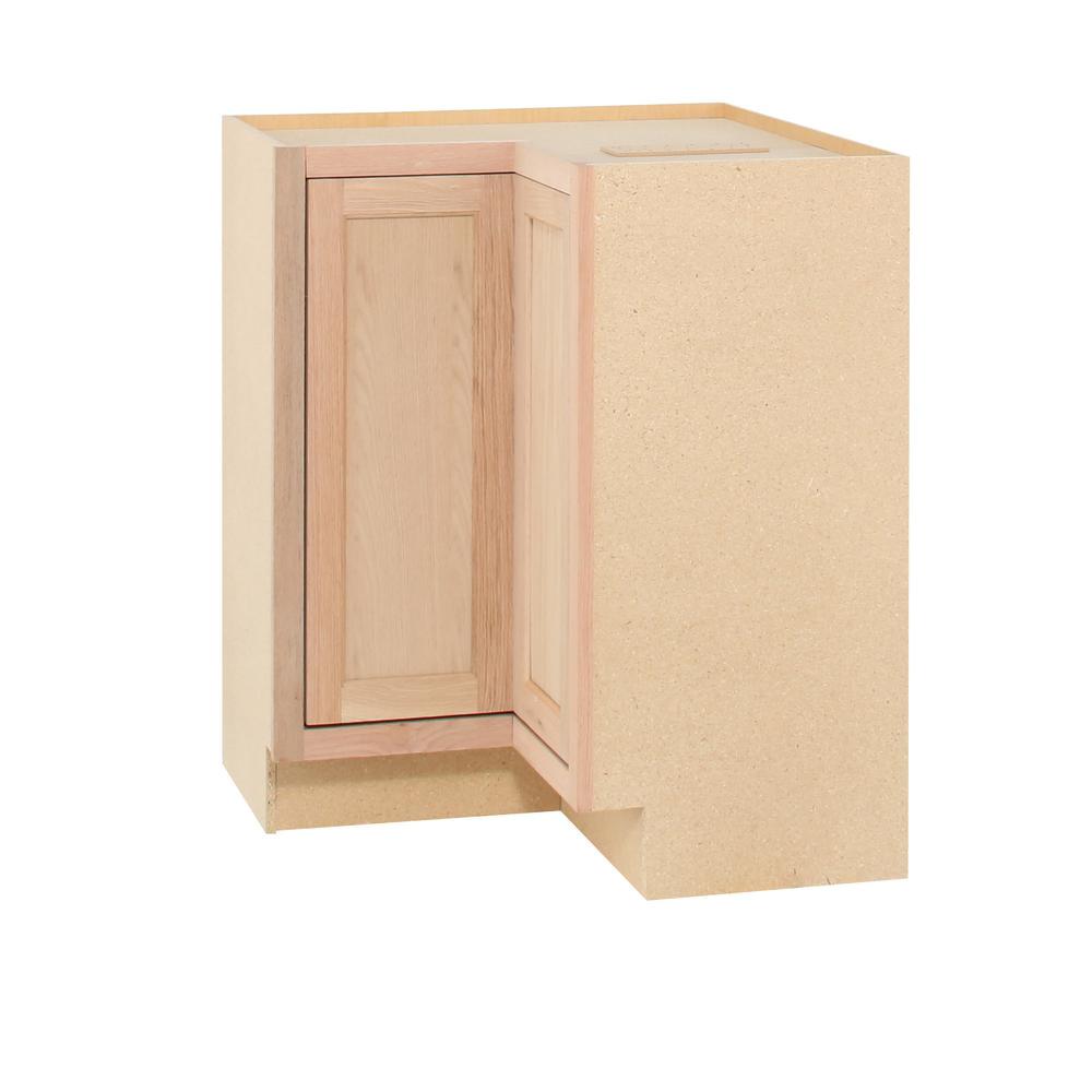 18 Inch Deep Base Cabinets Unfinished assembled 24×34 5×24 In Base Kitchen Cabinet In Unfinished Oak