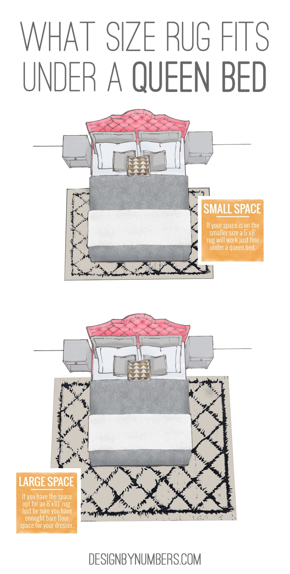 tips of rugs underneath beds jpeg