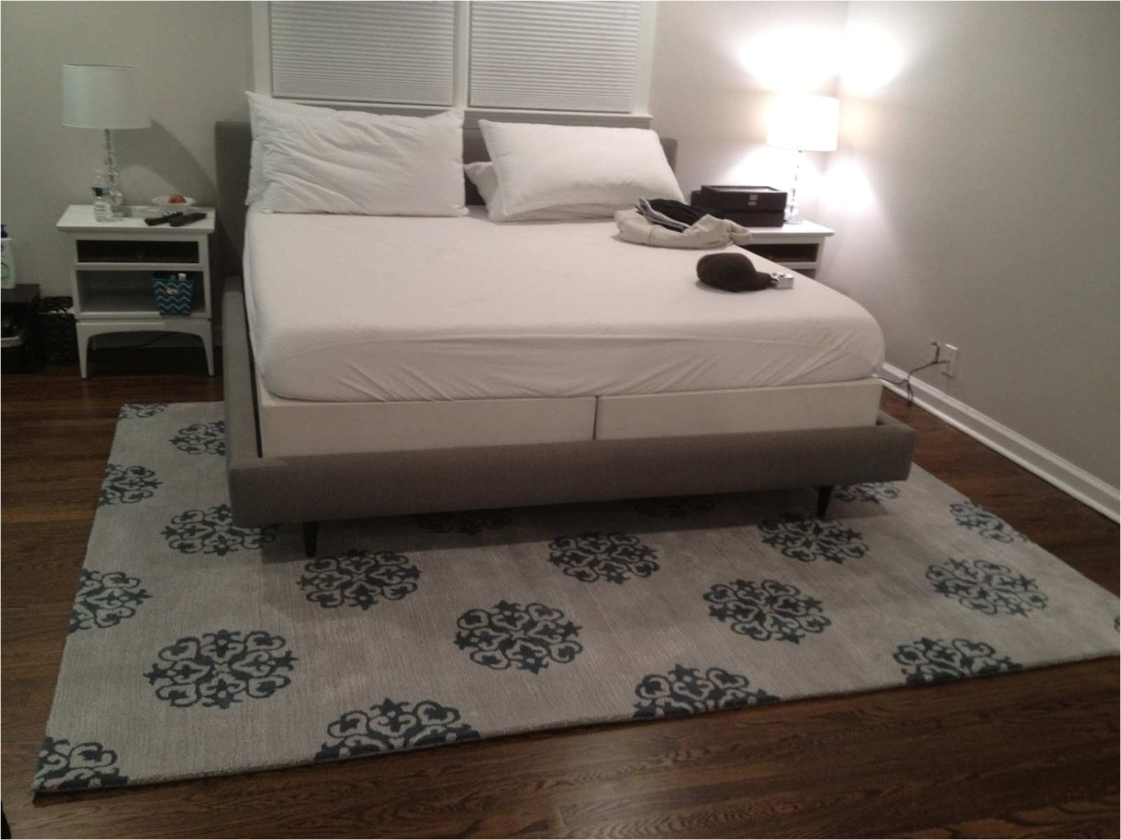 what size area rug under queen bed unique king rugs ideas