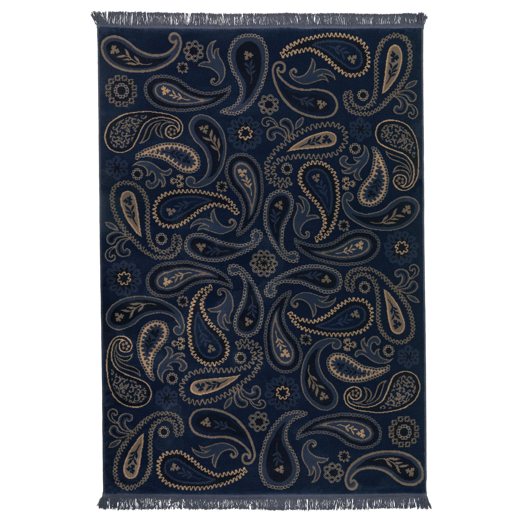 luv this paisley but not in blue vilsund rug low pile ikea