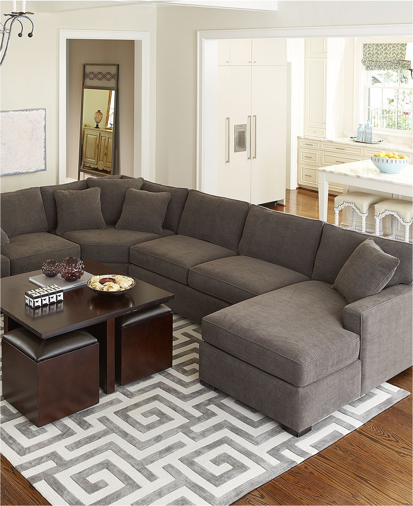 macys leather sectional sofa lovely radley fabric sectional sofa collection created for macy s of macys
