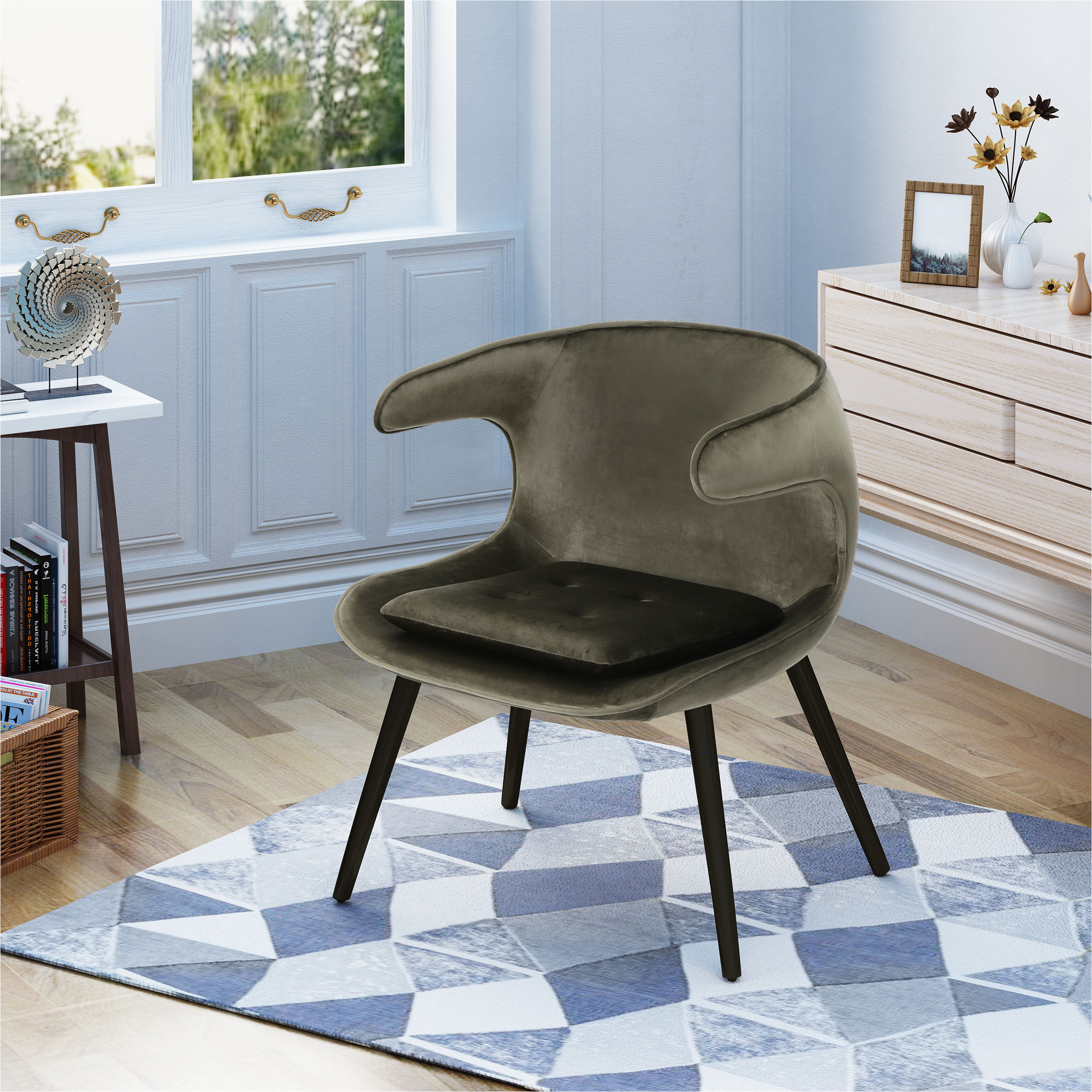accent chairs under 100 walmart noble house mid century