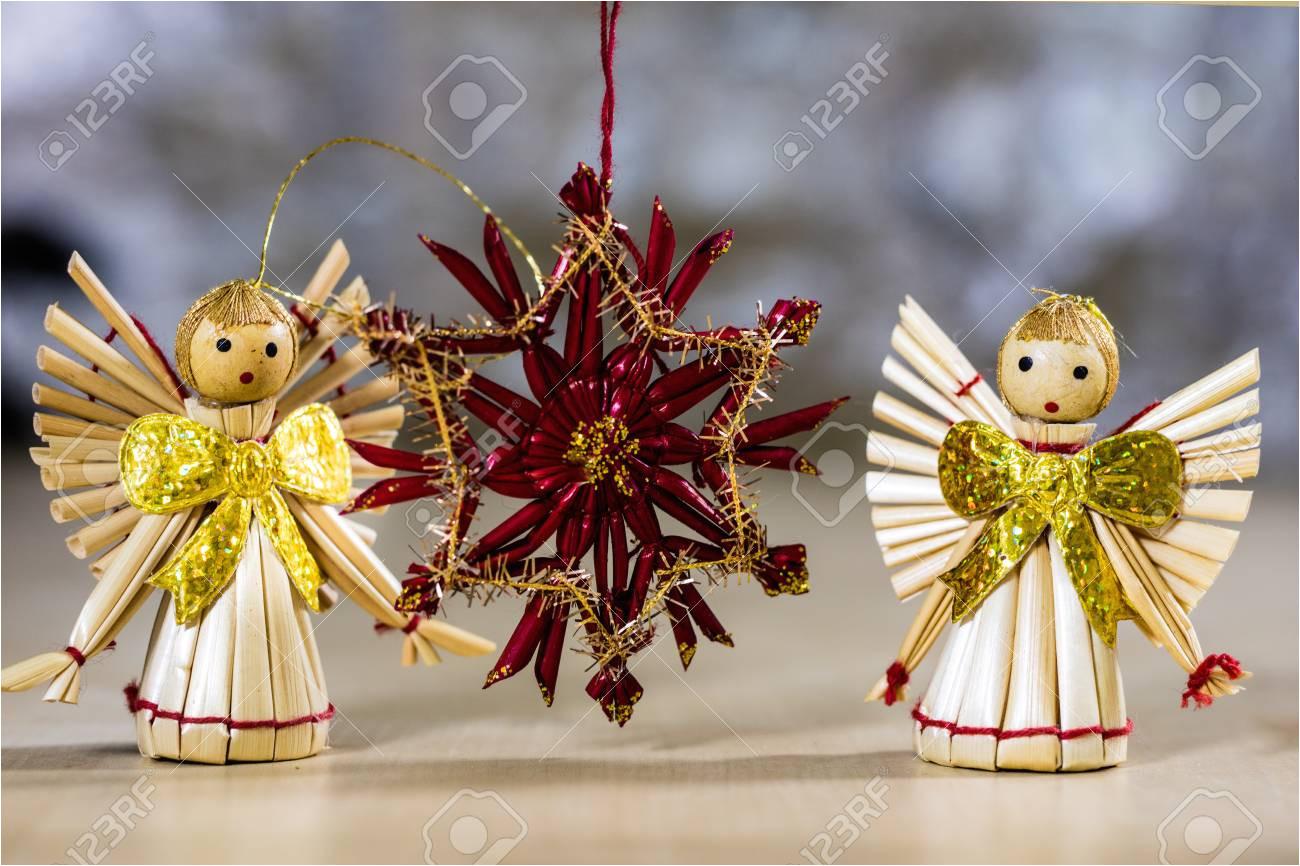 adornos navideos para navidad adornos navideos hechos de paja