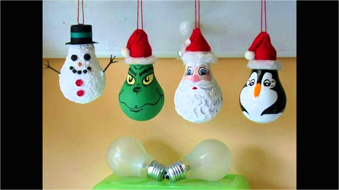 14 ideas de adornos caseros para navidad