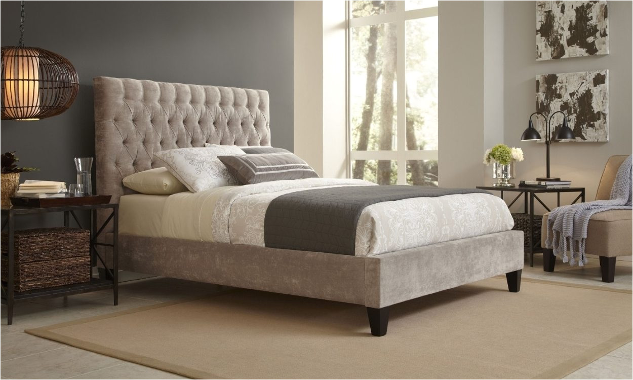 king bed in bedroom