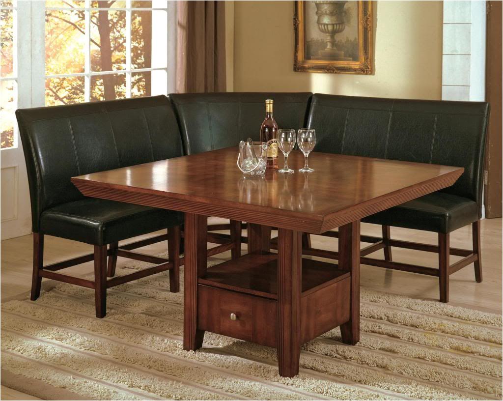 salem 4 piece breakfast nook dining room set table corner bench seating dinette ebay