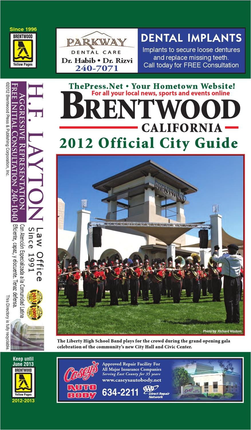brentwood official city guide and business directory 2012 2013 by brentwood press publishing issuu