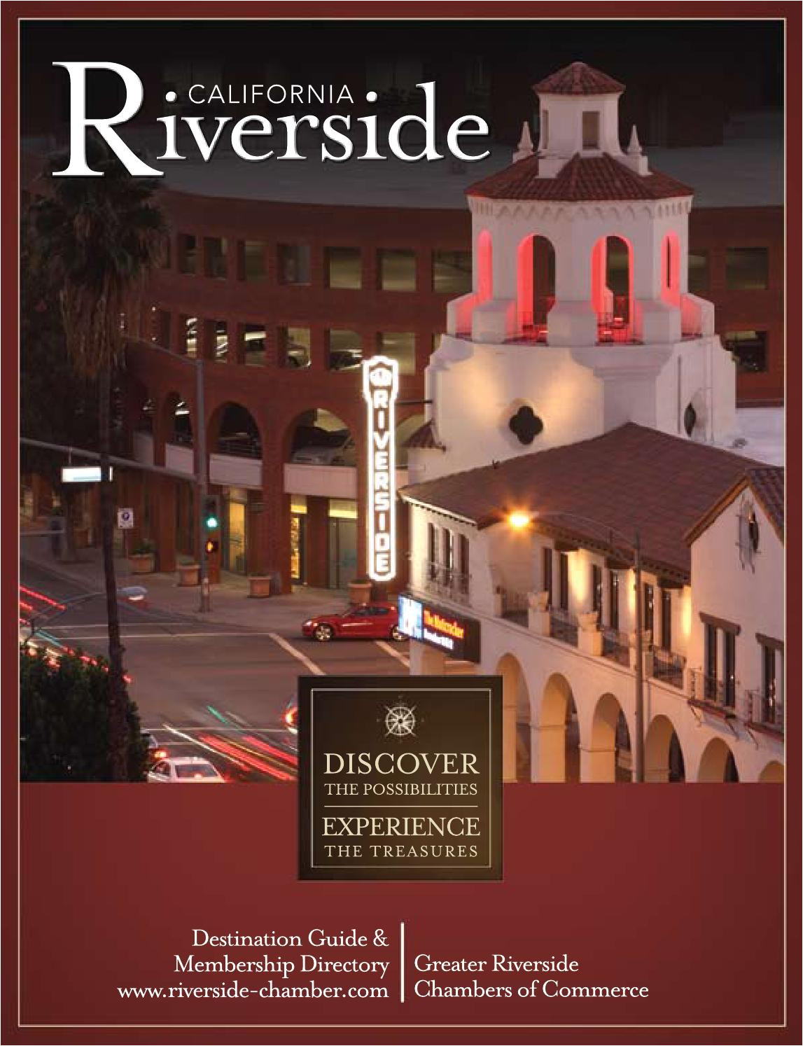 riverside destination guide business directory 2011 2012 by greater riverside chambers of commerce issuu