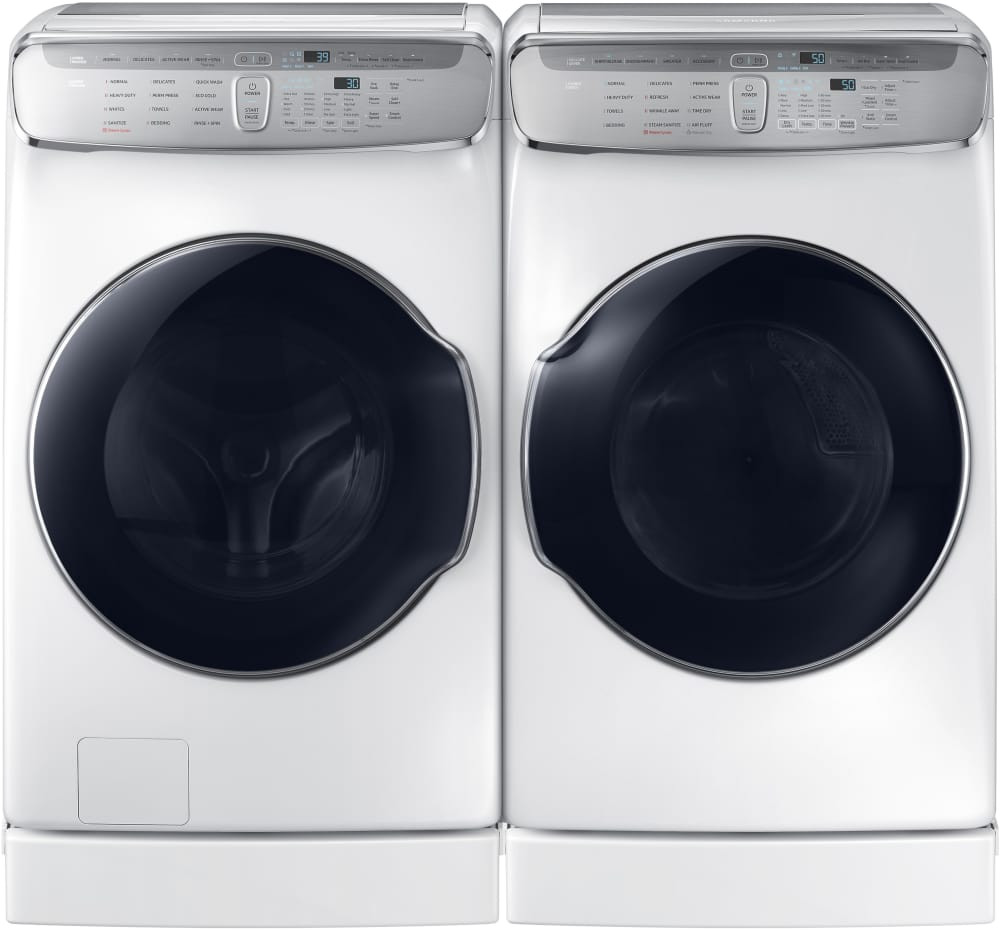 samsung flexdrya gas dryer white dvg60m9900w