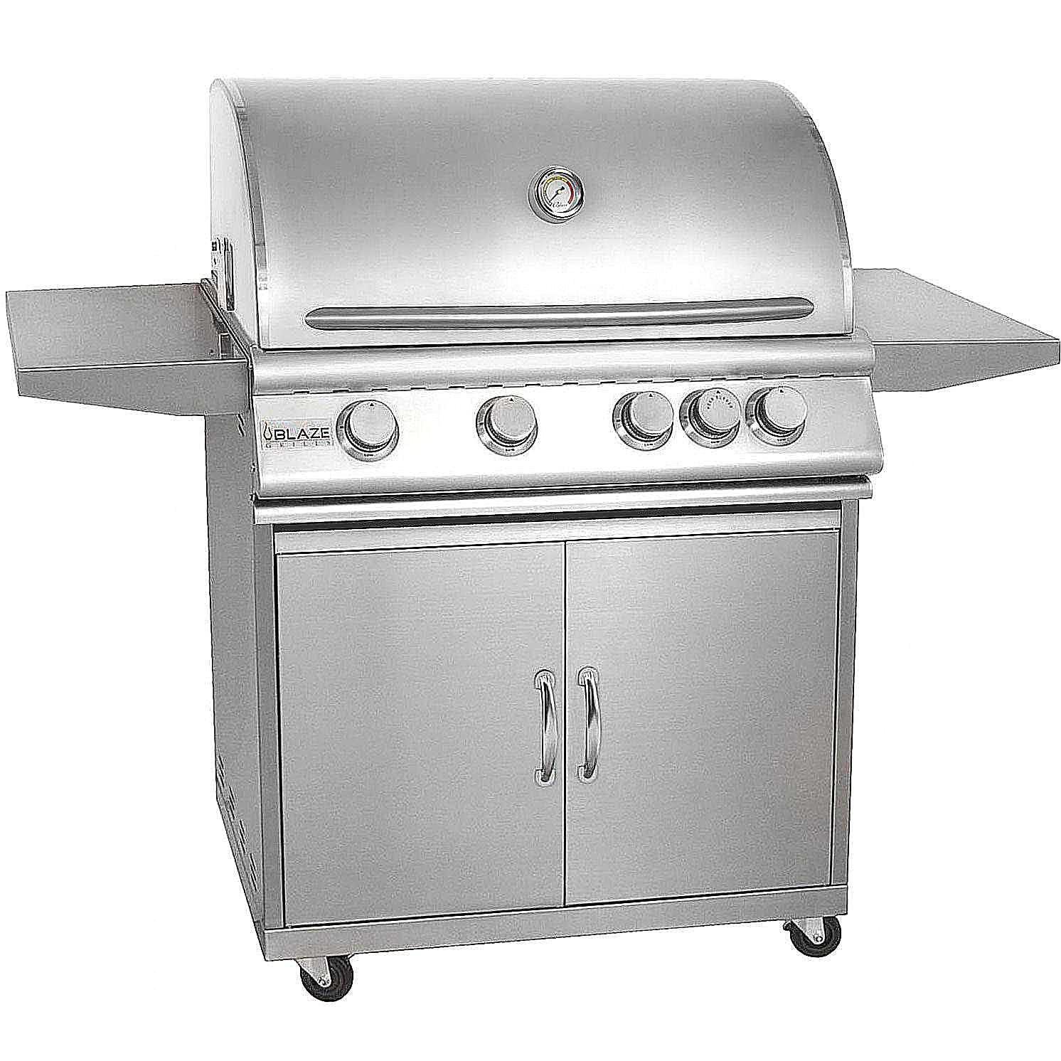 blaze 32 inch 4 burner gas grill model blz 4 lp