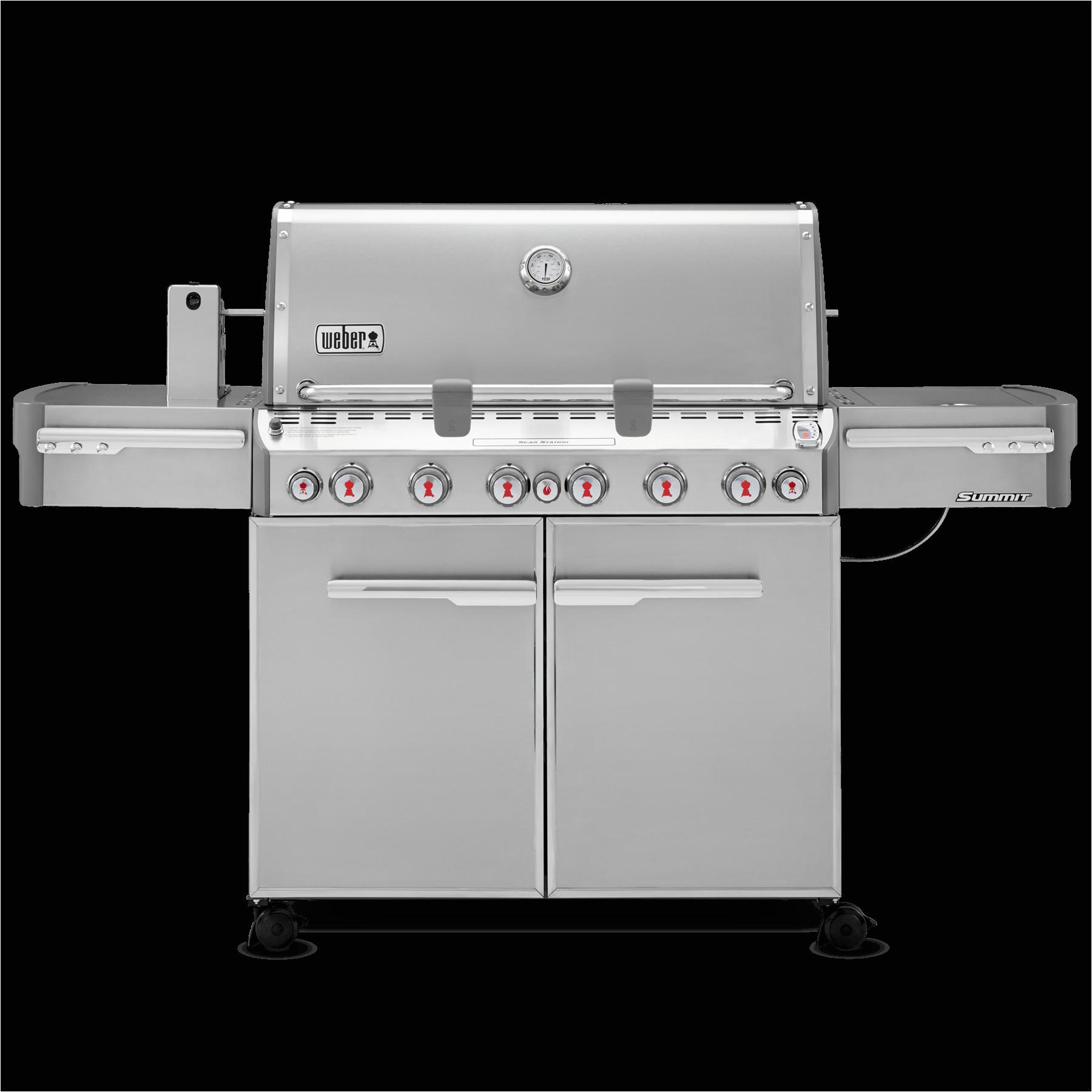 summita s 670 gas grill