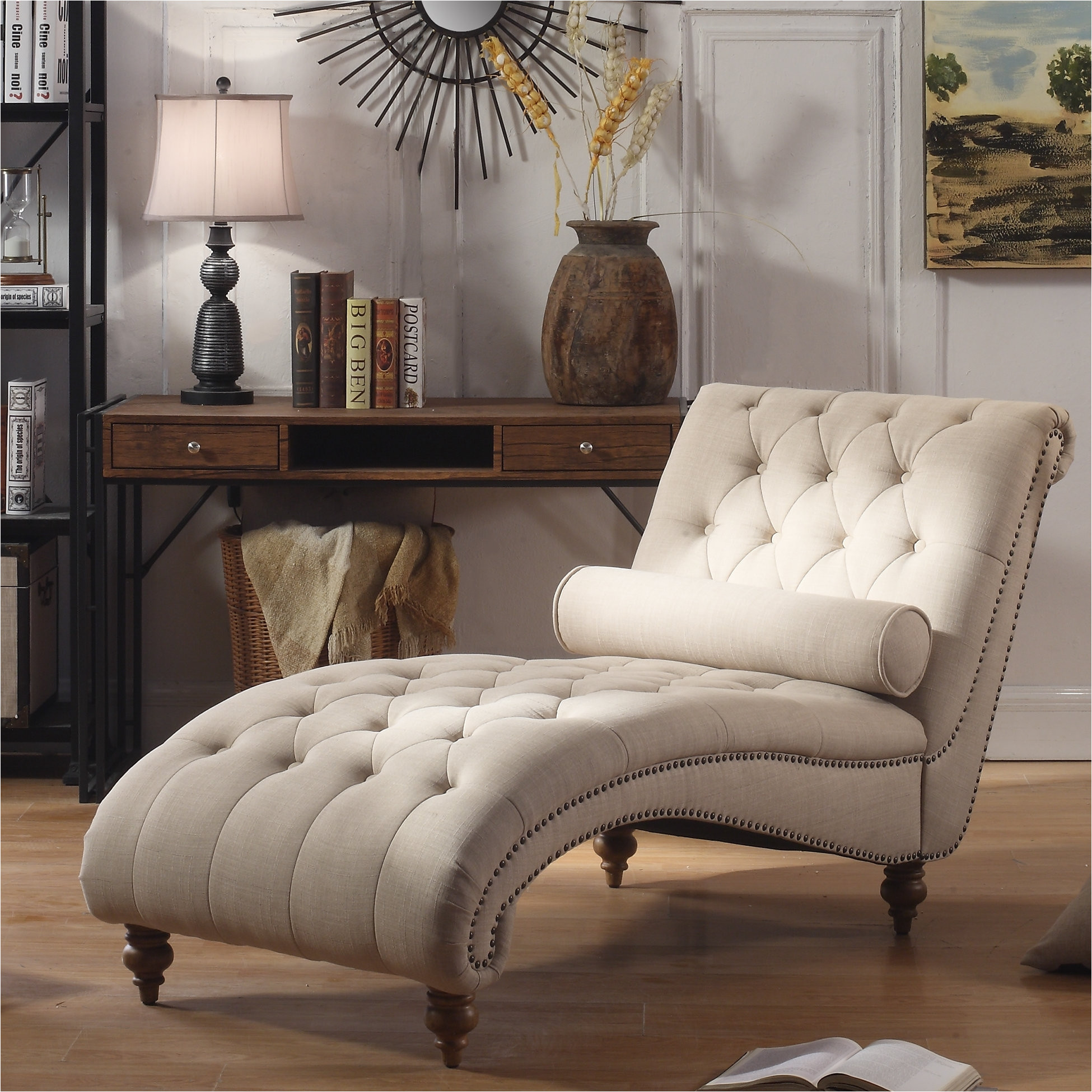 Bainbridge Double Fabric Chaise Costco  AdinaPorter