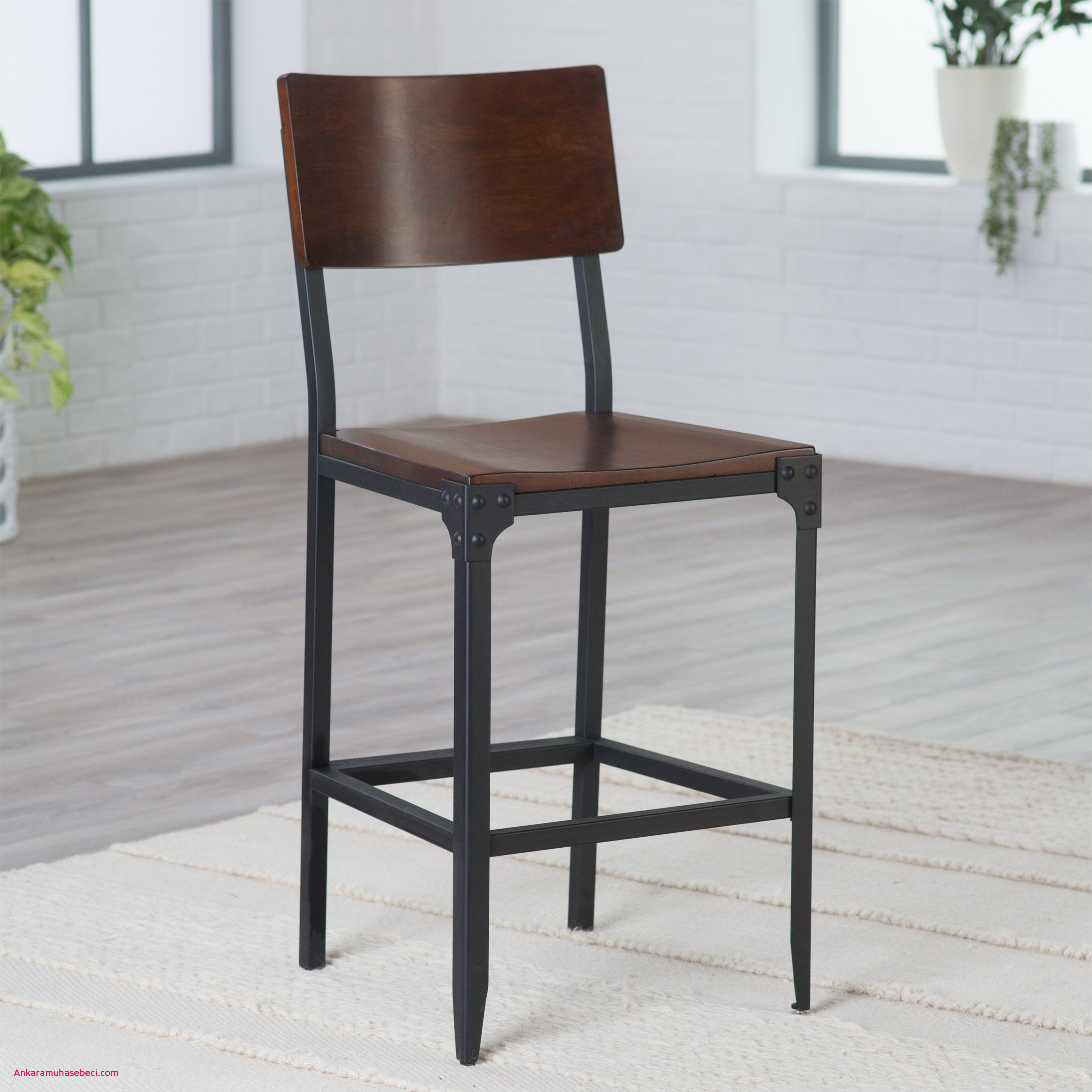 belham living trenton wood and metal counter stool say cheers to the belham