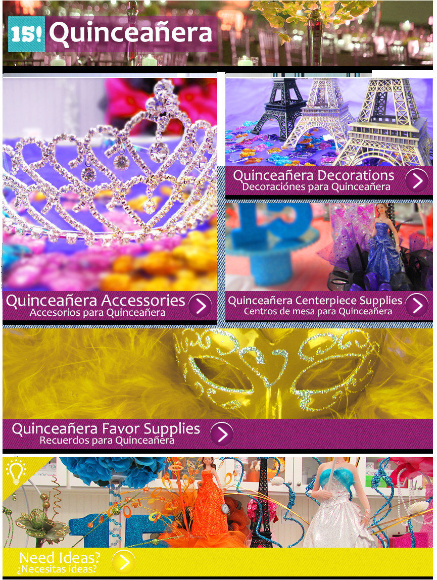 welcome to our quinceanera line you will have an unforgettable experience you can fulfill your ideas with memories for quinceaneras centerpieces for