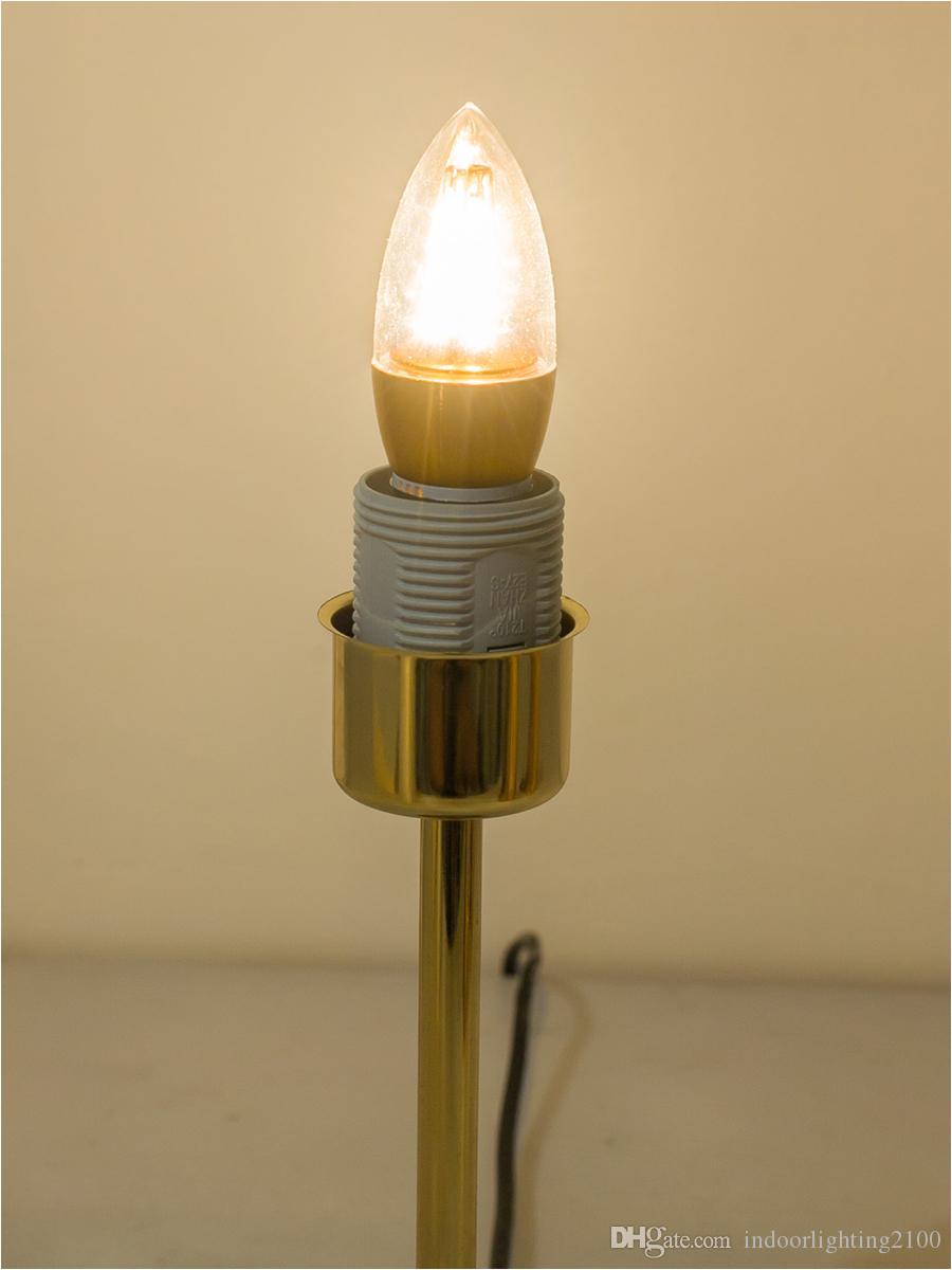 venta al por mayor de moda europa oro cortina pantalla led lamparas de mesa base de