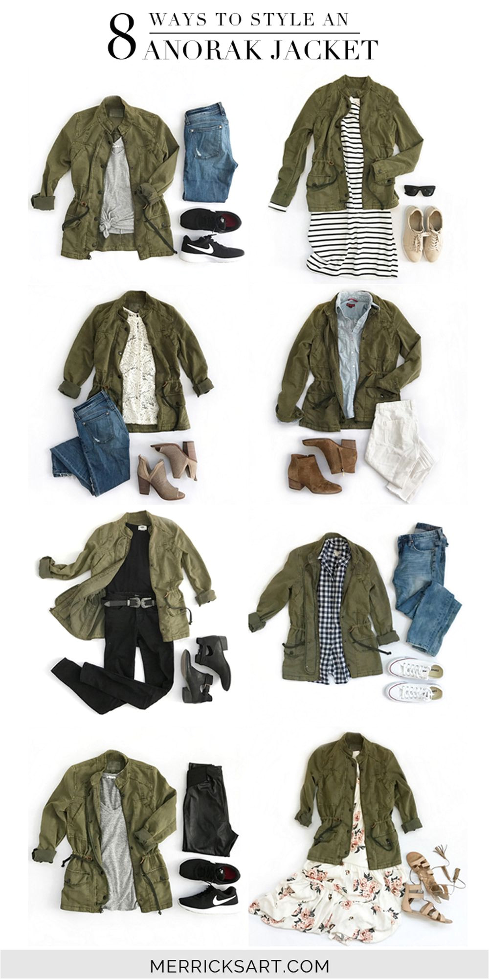 merrick s art style sewing for the everyday girl 8 ways to style an olive jacket