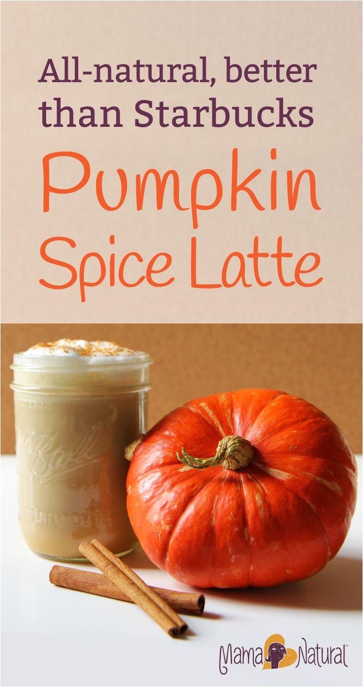 pumpkin spice latte a healthier version of the starbucks favorite