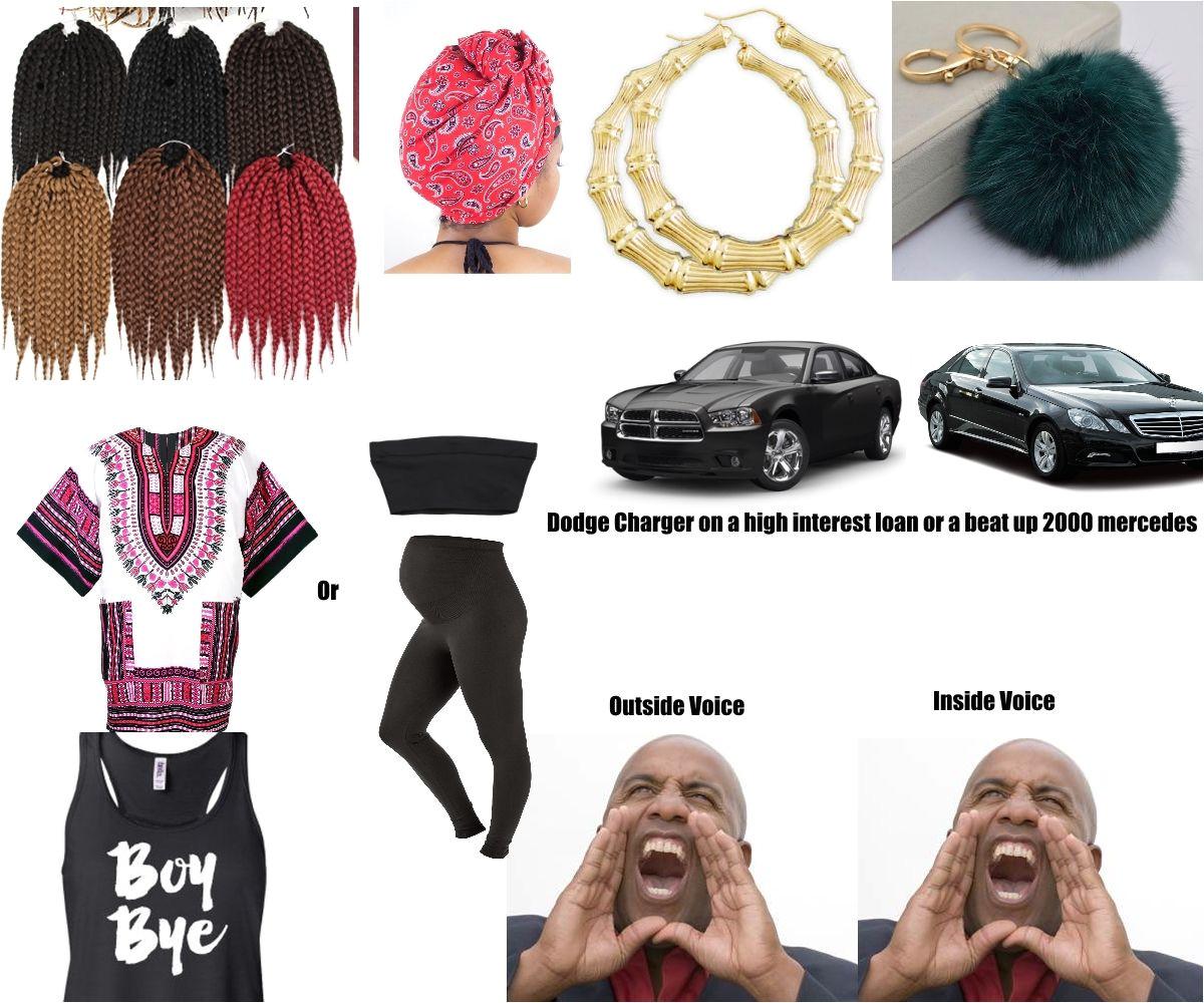 the basic black girl starter pack