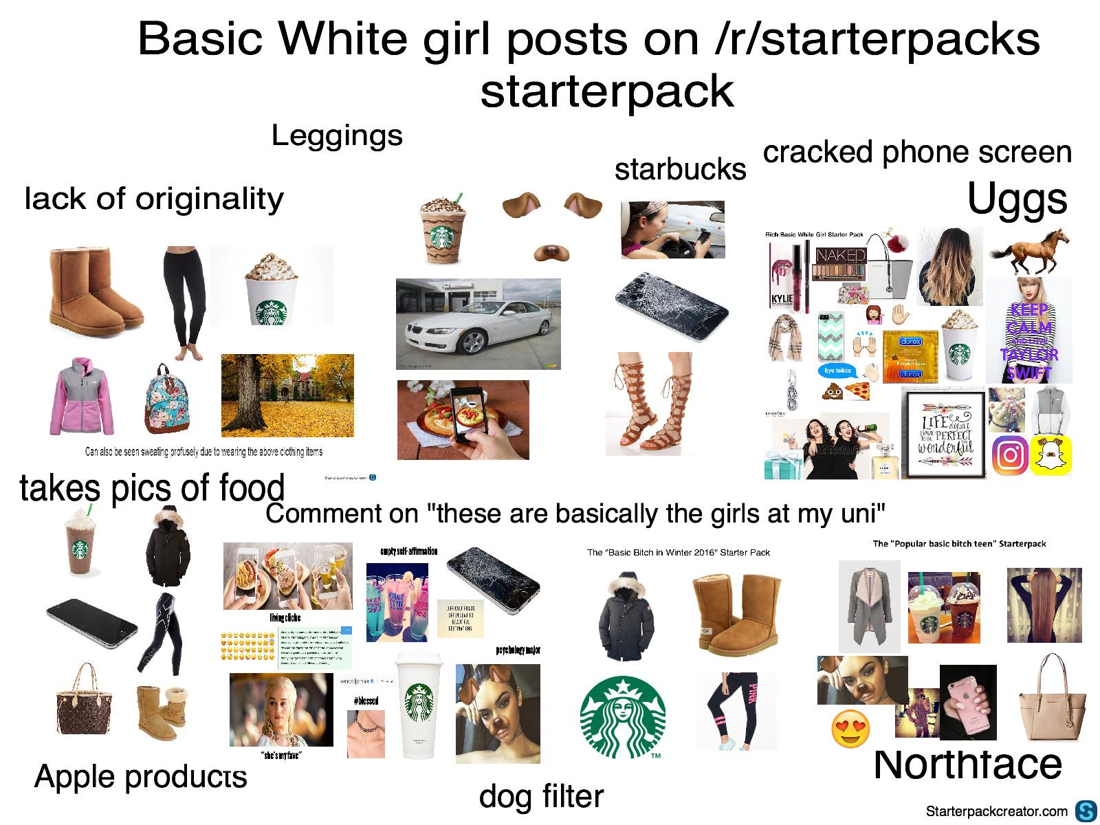 Basic White Girl Starter Pack Pumpkin Spice White Girl Starter Pack Pumpkin Spice Rec Sec