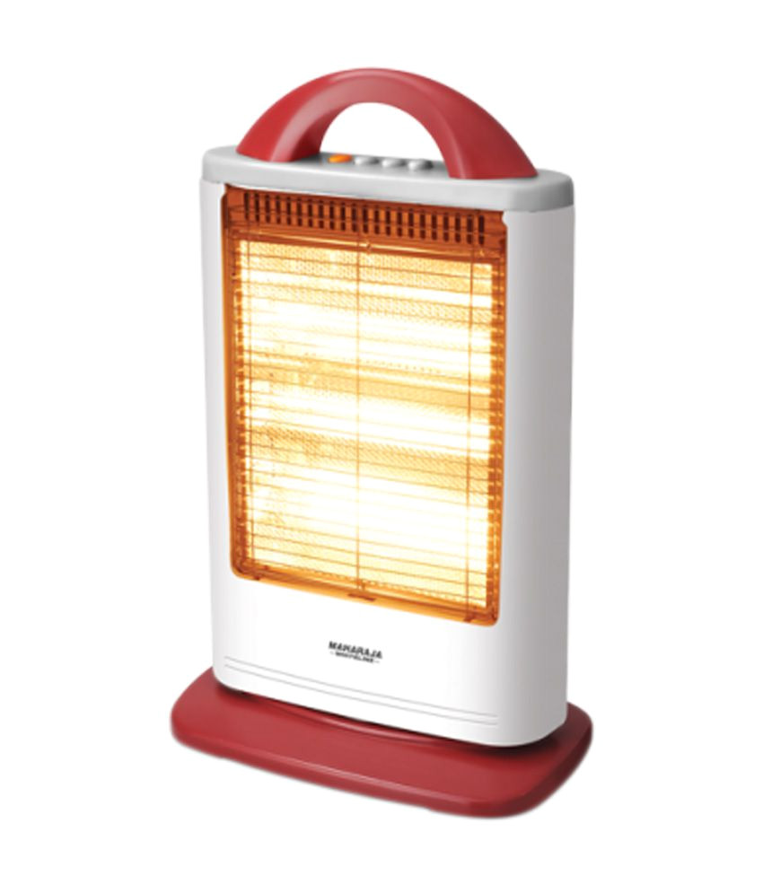 Best Indoor Heaters for Large Rooms In India Maharaja Whiteline 1200 W Lava Room Heater White and Red Buy