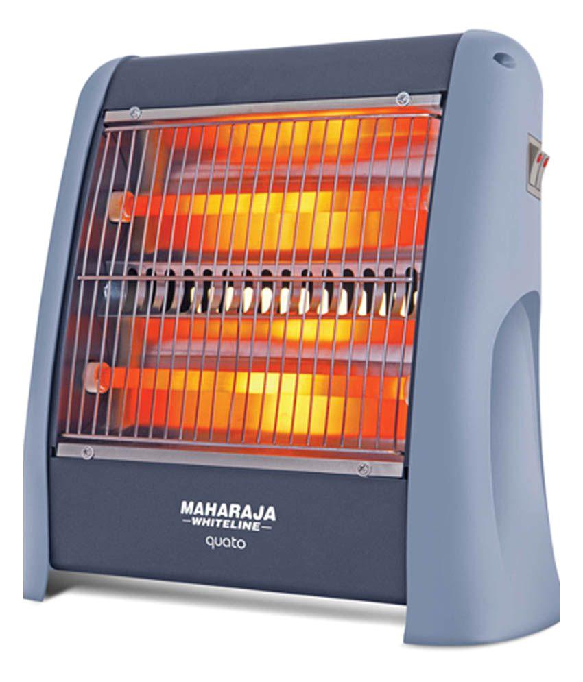 maharaja whiteline quato 800 watt quartz room heater