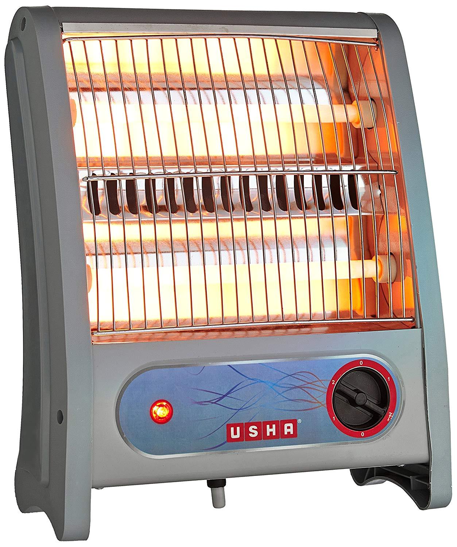 usha quartz room heater 3002 800 watt with overheating protection ivory amazon in home kitchen