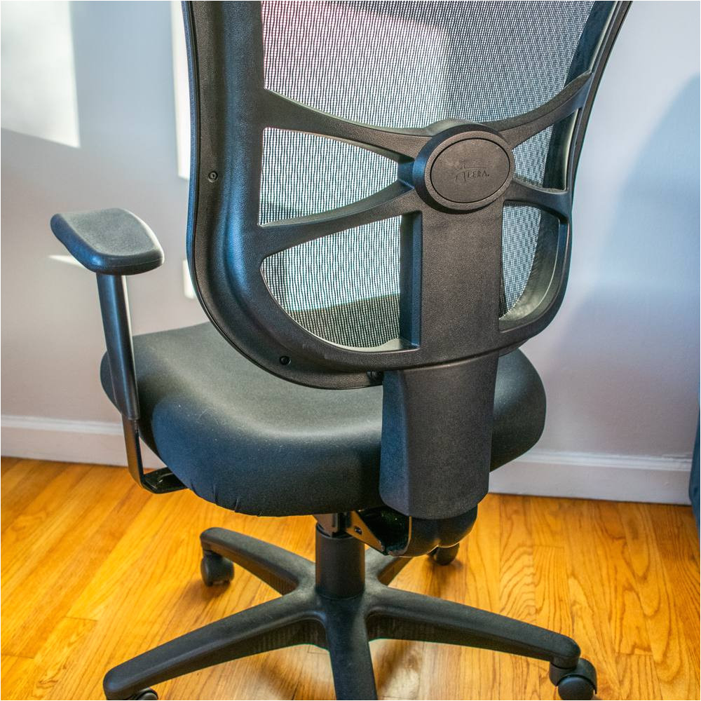 i feel like the chair gave really good back support reported one or our testers the chair that this one is replacing would give me back pain after less