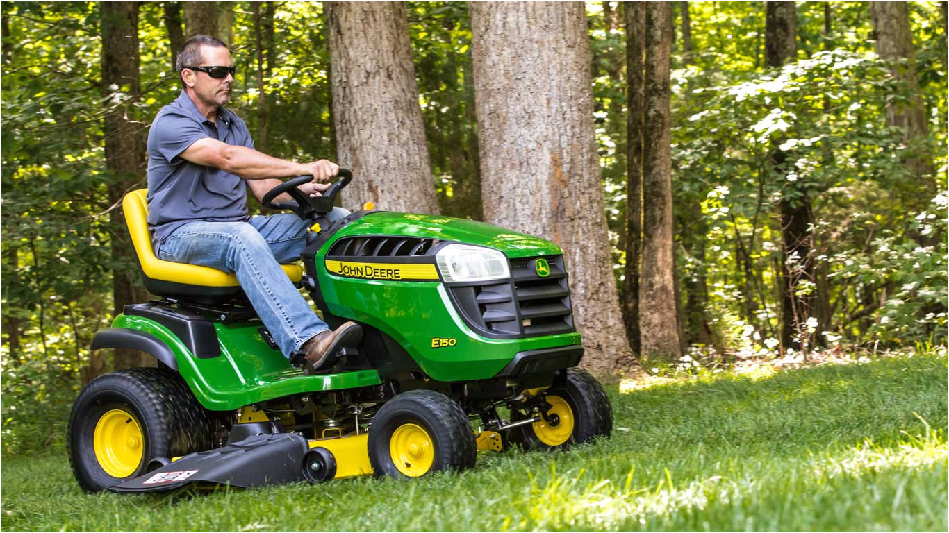 the comfortable lawn tractor at an affordable price
