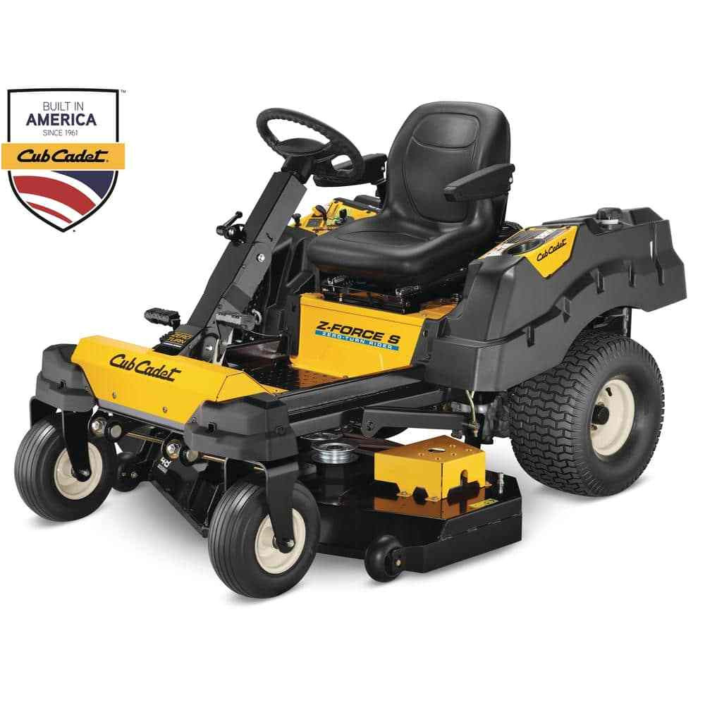 7 cub cadet z force l and cub cadet z force s at the home depot