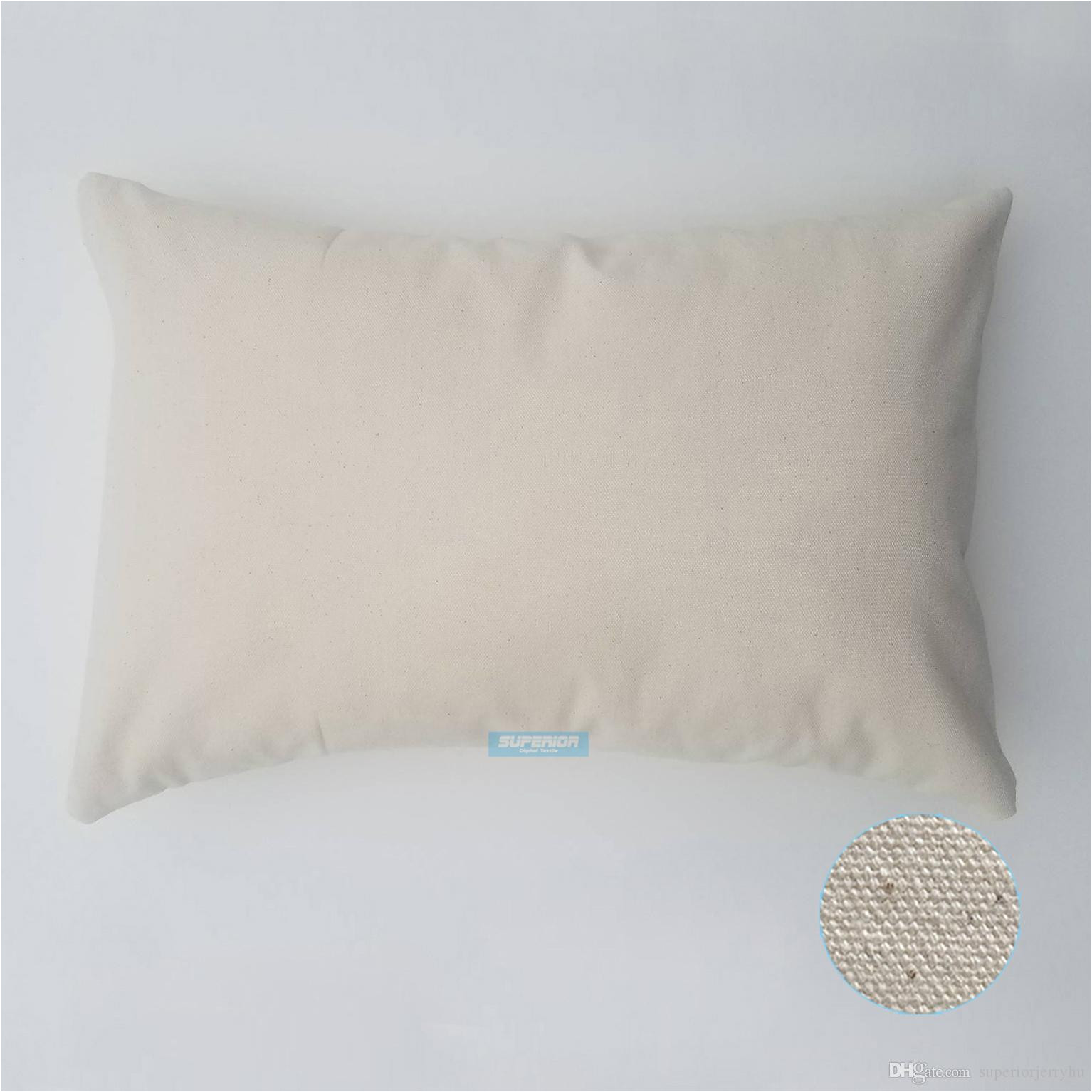 12x18 inches wholesale 8oz white or natural cotton canvas pillow cover blanks perfect for stencils painting embroidery htv exterior cushions lawn chair
