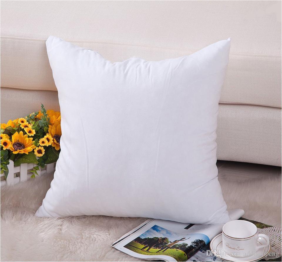 100pcs lot 8oz plain white natural color pure cotton canvas pillow cover with hidden zip for diy paint print blank cotton pillow case
