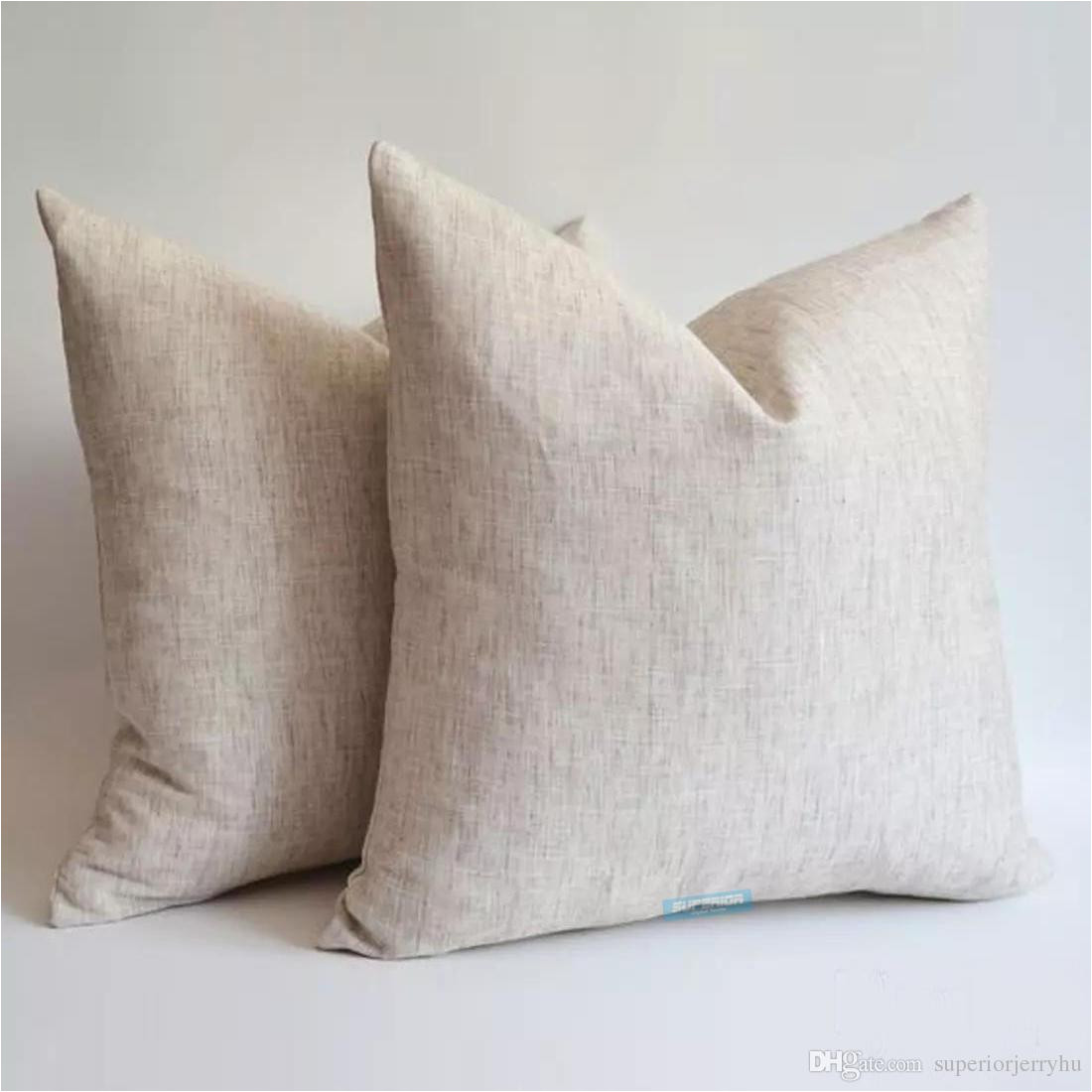all sizes linen cotton blended natural gray pillow case gray blank linen pillow cover 240gsm natural fine linen cushion cover outdoor furniture pads patio