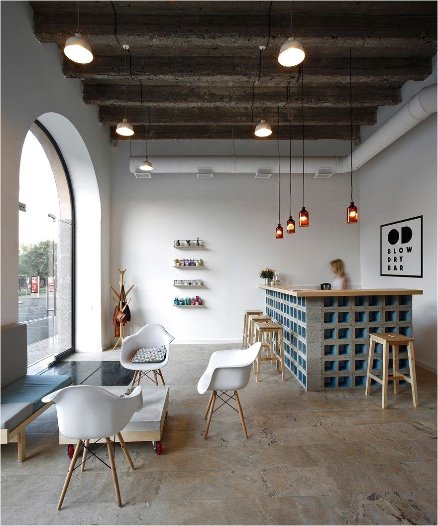 od blow dry bar snkh architectural studio
