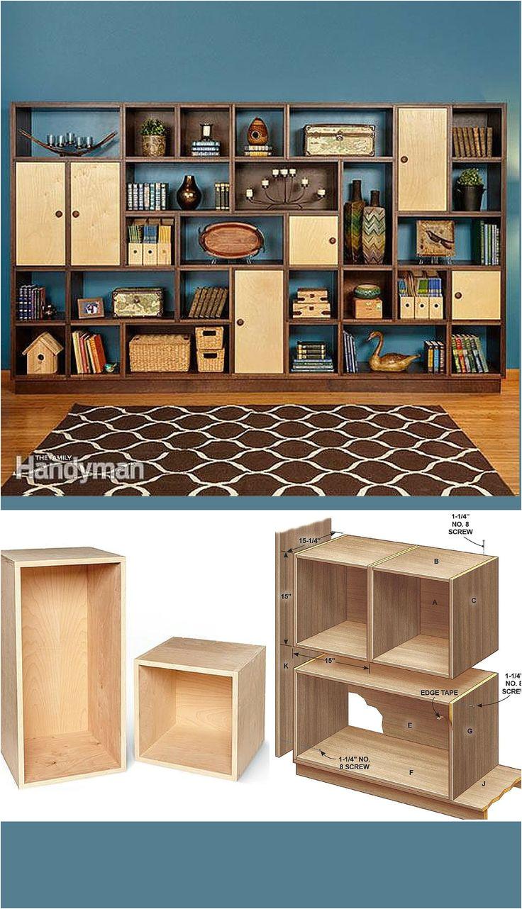 modular masterpiece build a fully customizable modular bookshelf a stunning wall unit that s infinitely flexible