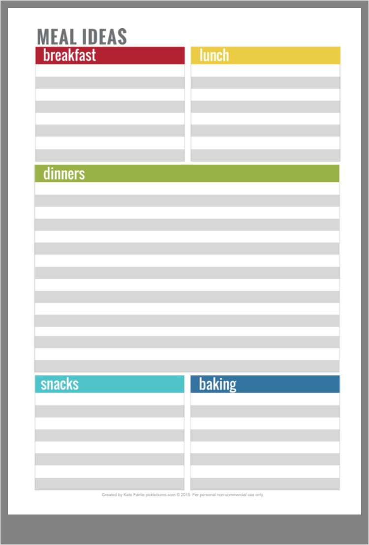 frugal tips bright line printables how to plan meal planning