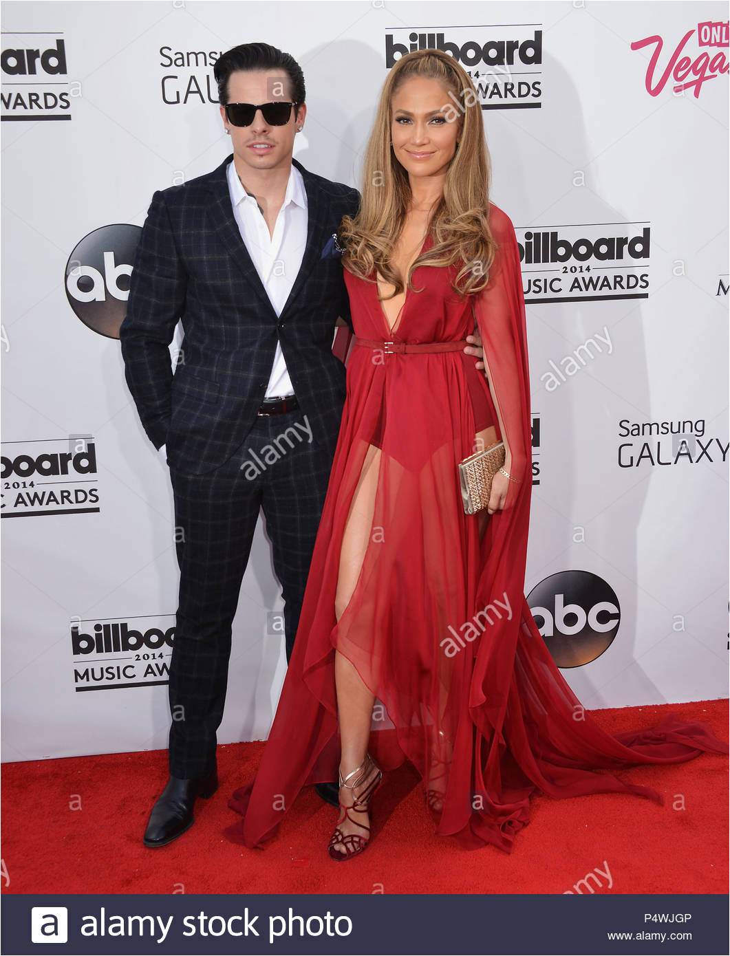 jennifer lopez und casper 124 2014 billboard music awards im mgm grand arena in las