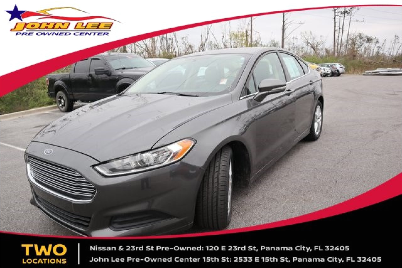 used 2015 ford fusion in panama city fl