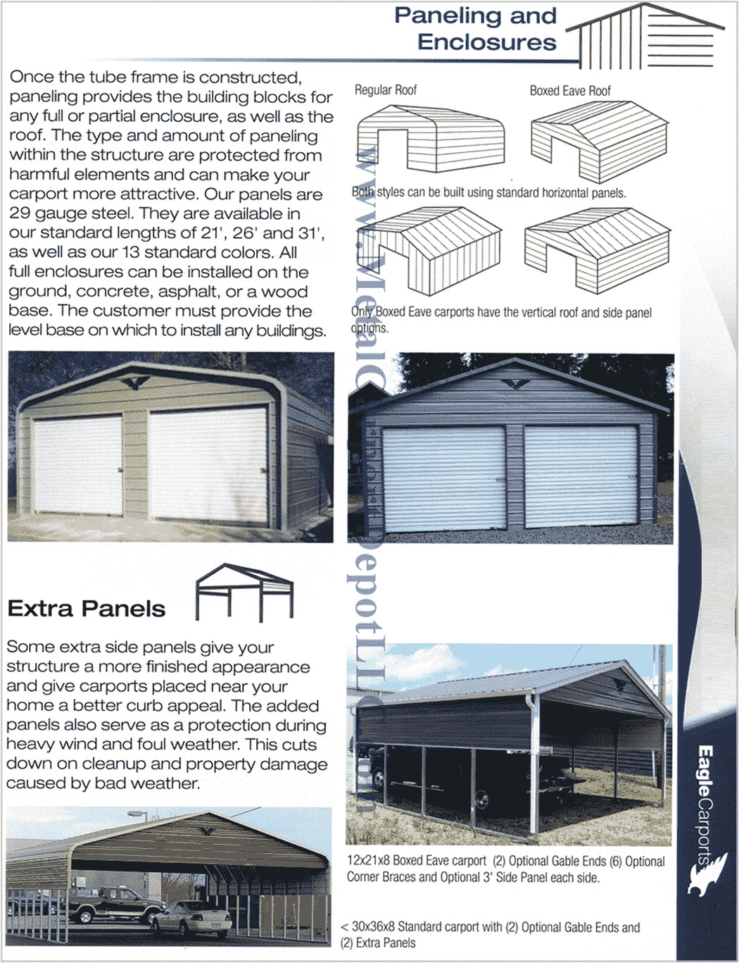 our most frequently asked questions about metal carports metal buildings